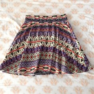 ⚡️SALE⚡️Tribal skater skirt