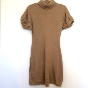BR camel sweater dress