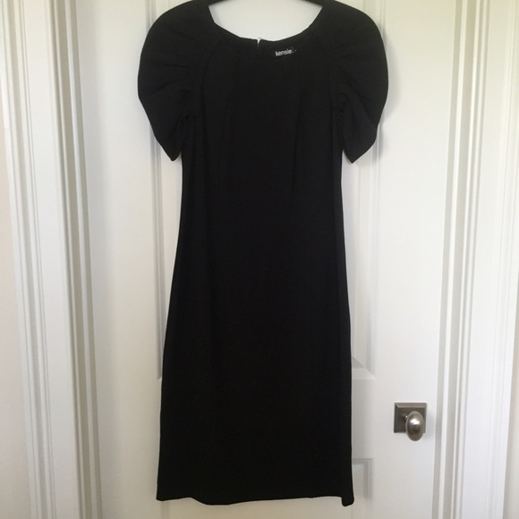 Kensie Dresses - Little Black Midi Dress   Kensie