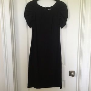 Kensie Dresses - Little Black Midi Dress | Kensie