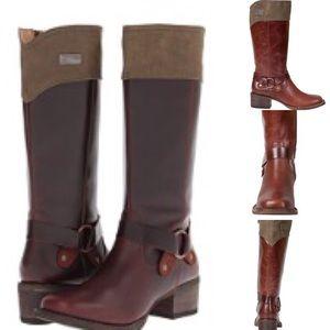 Durango Shoes - Durango World Traveler Side Zipper Harness Boots