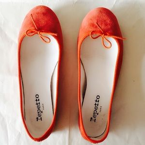 Repetto Shoes - Repetto Suede Ballerina Flats