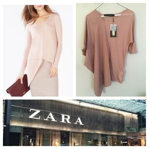 Zara High Low top