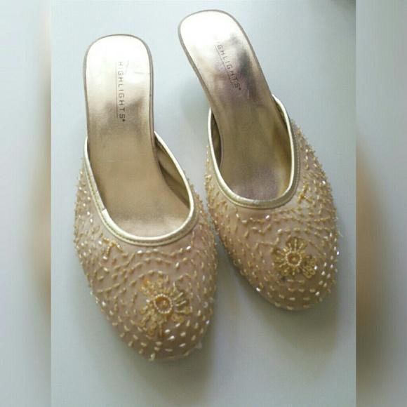 Highlights Shoes - Vintage Slip on Sandals