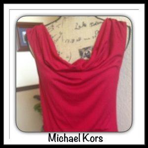 Michael Kors Red Top