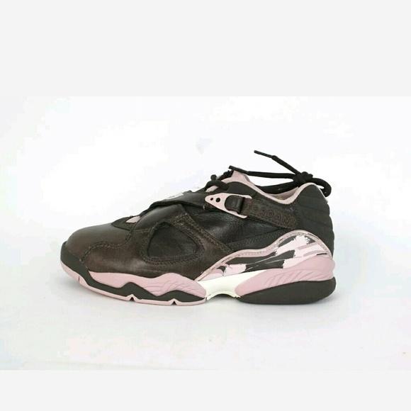 reputable site bac05 e97cd Nike Women's Air Jordan 8 Retro Low Dark Cinder/Ch