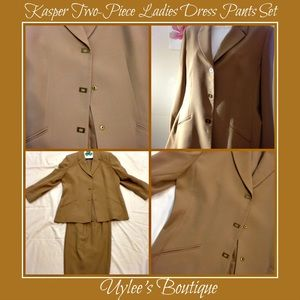 Kasper Other - Kasper Two-Piece Ladies Dress Pants Set