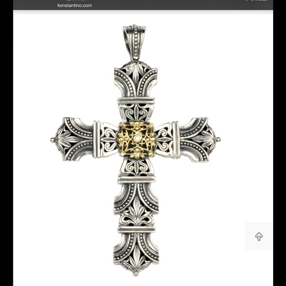 Konstantino jewelry cross pendant poshmark konstantino cross pendant aloadofball Gallery