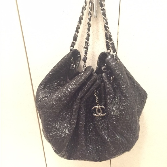 a46c9826e98507 CHANEL Bags | Quilted Patent Leather Hobo Bag | Poshmark