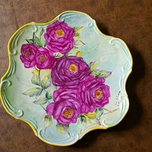 custom Accessories - Antique, one-of-a-kind, handpainted fine porcelain