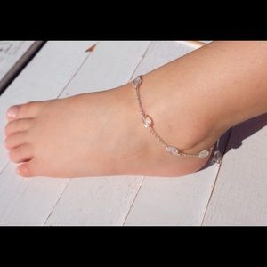 Jewelry - Crystal ankle bracelet for baby and child
