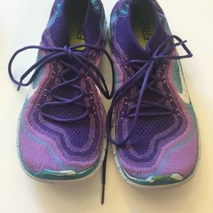 Nike Shoes - Nike Free Flyknit Second Skin Sneakers
