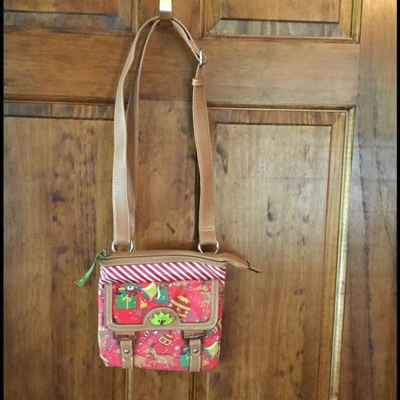 76% off Lily Bloom Handbags - Lily Bloom Christmas bag from ...
