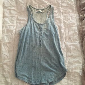 Light blue tank from Madewell
