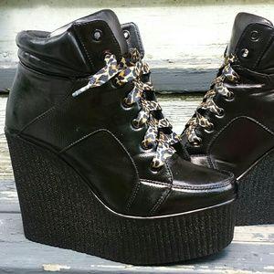 Platform Wedge sneaker