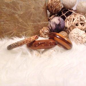 Jewelry - ❤️ BUNDLE OF THREE (3) Bracelets Bangles Jewelry