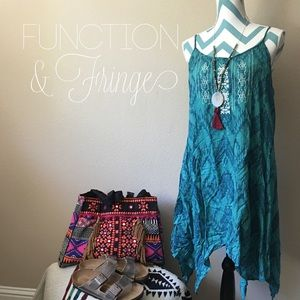 Function & Fringe Dresses & Skirts - Flowy printed tunic  dress