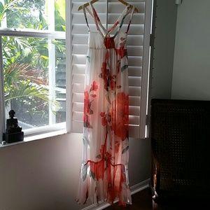 silk dress from Zara brazil