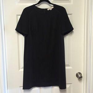 LOFT black shift dress
