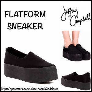 Jeffrey Campbell Shoes - JEFFREY CAMPBELL FLATFORM SNEAKERS