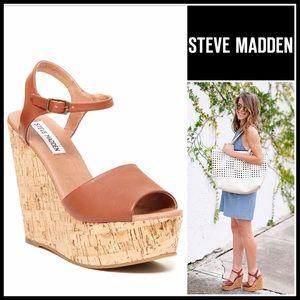 Steve Madden Shoes - ❗️1-HOUR SALE❗️STEVE MADDEN SANDALS Wedge Platform