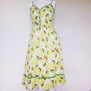 Adorable fruity summer dress