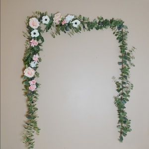 Other - Faux floral handmade garland