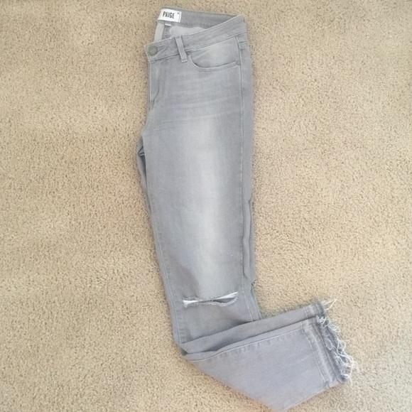 Paige denim jeans verdugo ankle skinny in evie