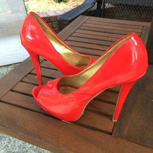 Liliana Shoes - ✨SALE✨LILANA 👠 Peep Toe Platform heels