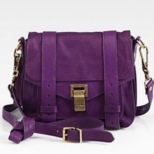 Proenza Schouler Handbags - NWT Proenza Schouler PS1 Pouch - Grape Jam