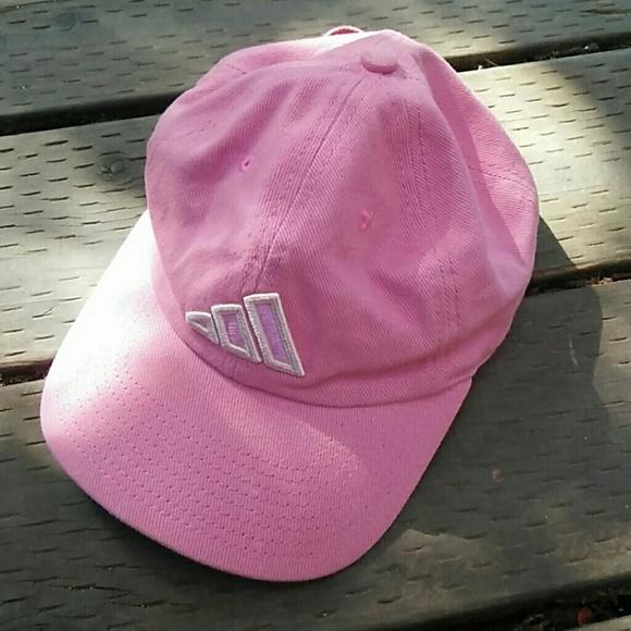 baf771fce8c Adidas Accessories - Adidas pink cap