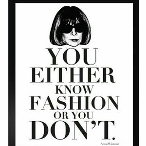 A fashionably fun quote!