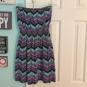 Billabong strapless dress/coverup