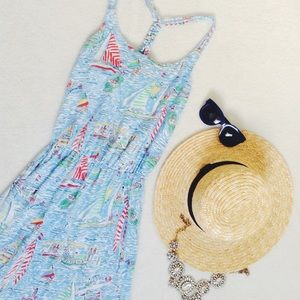 {Lilly Pulitzer} 🌿 Get Nauti Tank Dress