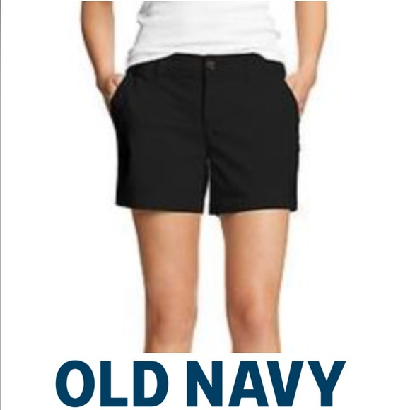 black khaki shorts womens