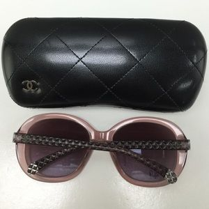 2d99c97417653 CHANEL Accessories - Chanel 5328 1533 S1 crystal pink sunglasses.