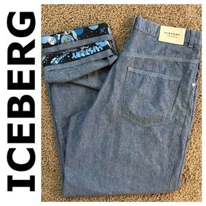 Iceberg Other - Iceberg Designer brand baggy Men's jean size 34