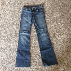 Citizens of humanity 26 low waist bootcut jeans