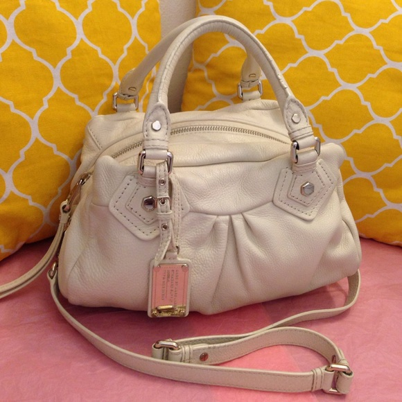 f520c3989154 Marc by Marc Jacobs Bags | Marc Jacobs Classic Q Baby Groove Ivory ...