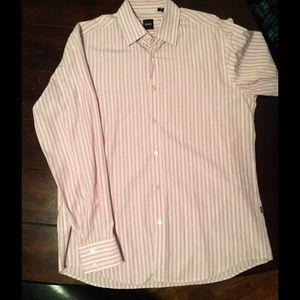 Hugo Boss Other - Price drop! Men's striped Hugo Boss dress shirt