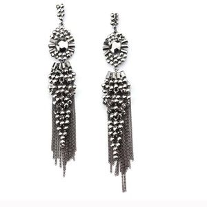High Quality Antique Silver Drop Earrings