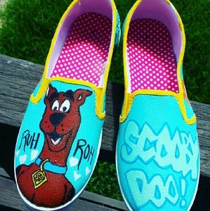 Shoes - Scooby doo Custom shoe