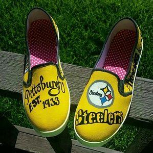 Shoes - Steelers Custom Made Shoe