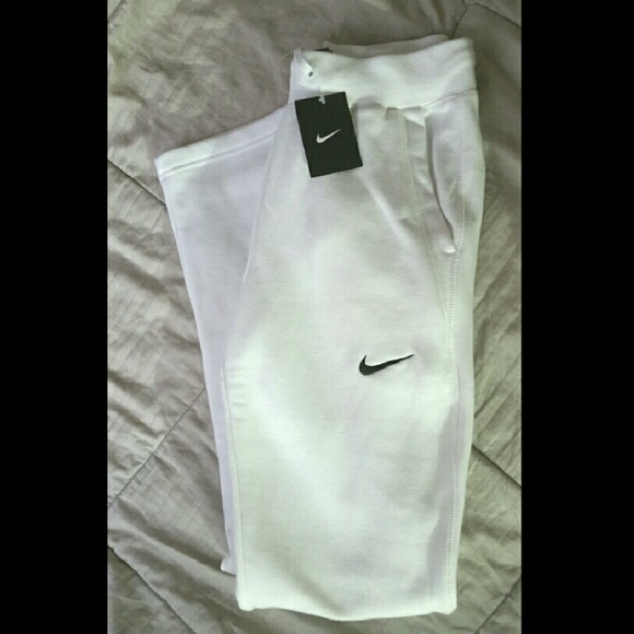 for sale coupon code low priced Nike white womens sweatpants nwt NWT