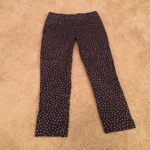 The Limited Pants - Patterned Capri dress pants!