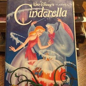 Other - Collectors Walt Disney Cinderella VHS