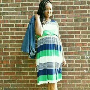 Dresses & Skirts - Stripe Dress