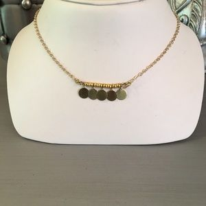 Maison Scotch Jewelry - 🛍 Maison Scotch Gold Disc Bar Necklace