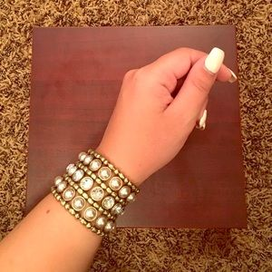Mark by Avon Jewelry - Rhinestone Bangle