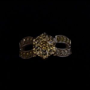 Jewelry - 1.25 carat white and yellow diamond ring Gorgeous!